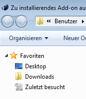 Windows Explorer Downloads