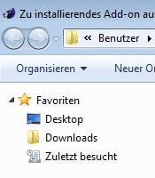 Windows Explorer Downloads