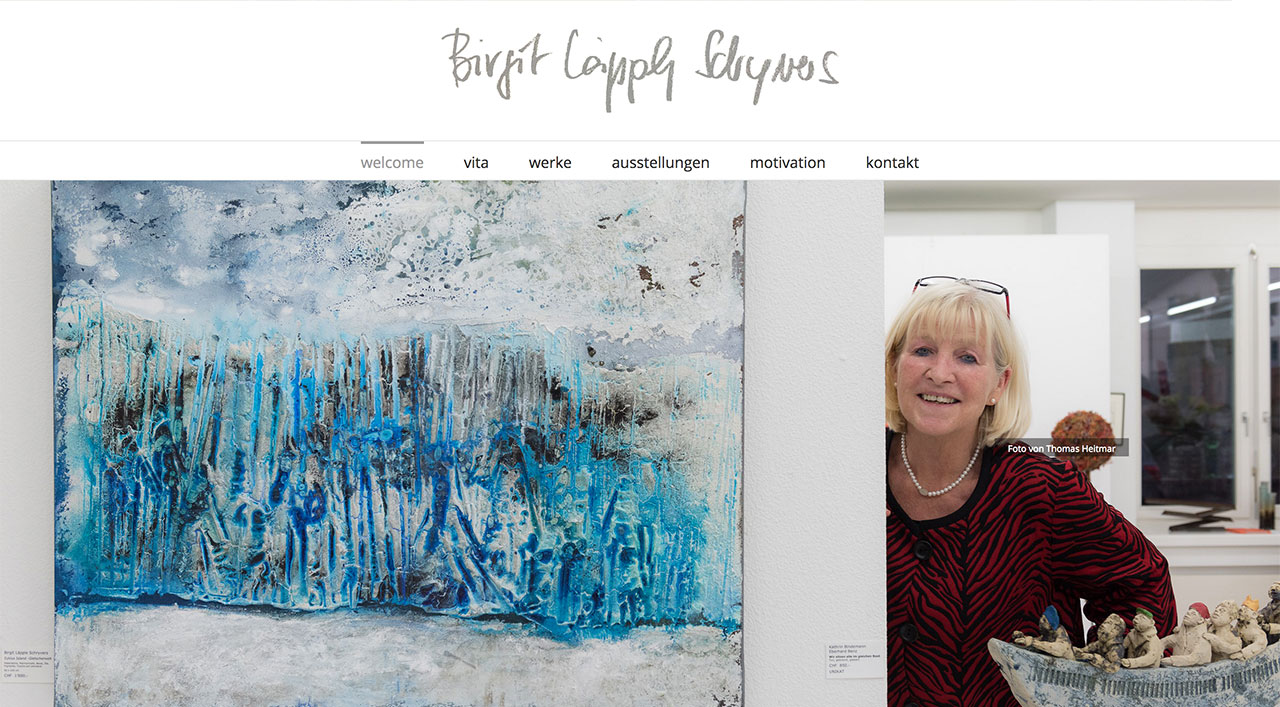 Künstlerin Birgit Läpple Schryvers