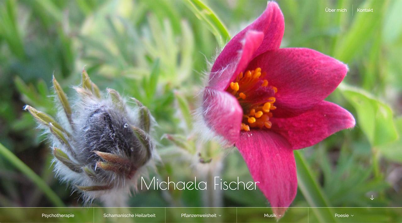 Michaela Fischer - Psychotherapeutin, Schamanin, Musikerin